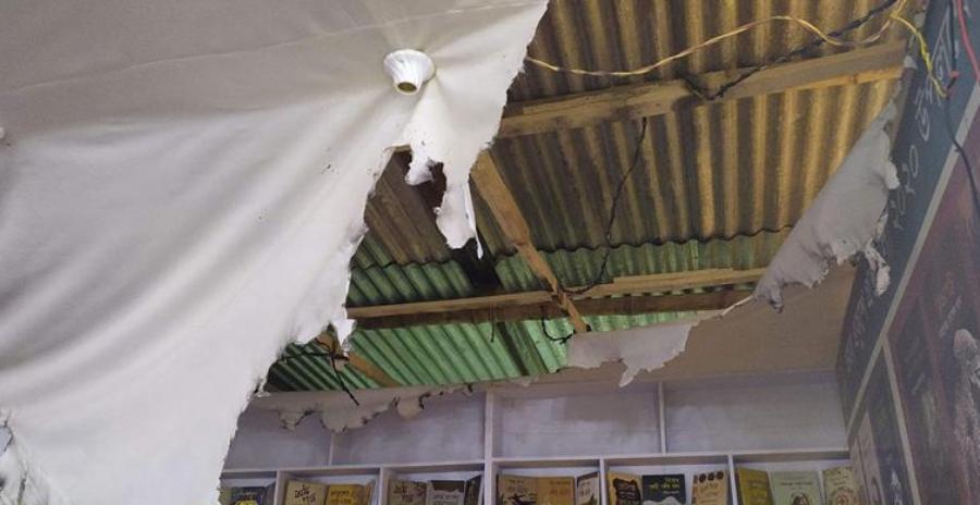 বইমেলা:রাবেয়া বুকস স্টলে আগুন