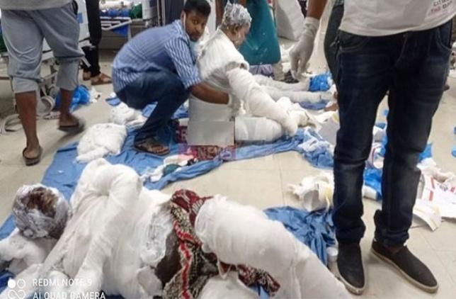 নারায়ণগঞ্জে মসজিদে এসি বিস্ফোরণে দগ্ধ শিশুর মৃত্যু, অনেকের অবস্থাই আশঙ্কাজনক